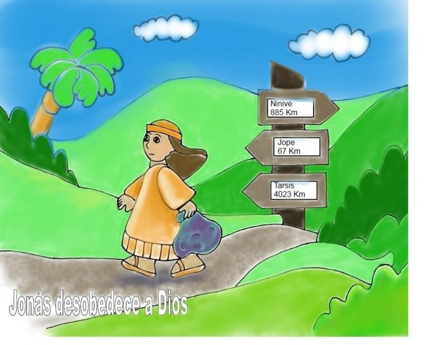 lecciÓn 2 jonÁs desobedeciÓ a dios lección para niños de 3 4 años