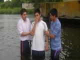 Fotos del bautismo de los hermanos Alan Carro, Carolina Vega y Gonzalo Romero (23-11-2013)