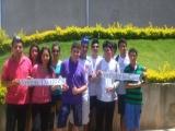 Fotos de los jóvenes en la Escuela de la verdad - San Roque-Brasil - Enero 2015