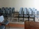 Algunas fotos de la reparación del salón de reuniones