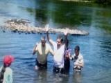 Fotos bautismo del hermano Carlos Bustos y la hermana Marta Vega (07-12-2013)
