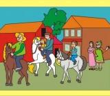 LECCIÓN 19:  RASGOS DEL CARÁCTER - UN PASEO A CABALLO (Lección niños de 3-5 años, se compartirá el 21 de agosto 2016)